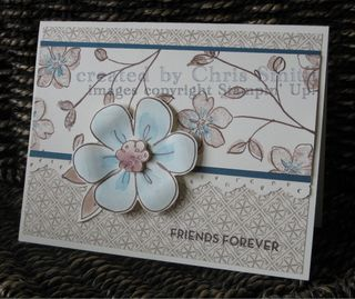 Flower fancy card 1