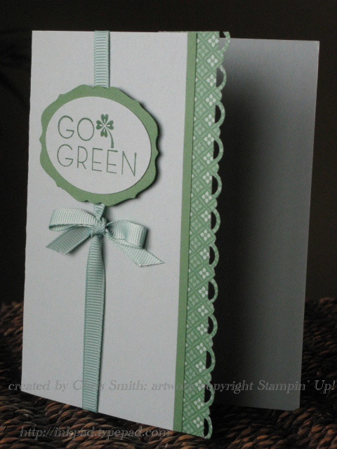 Go Green on sage