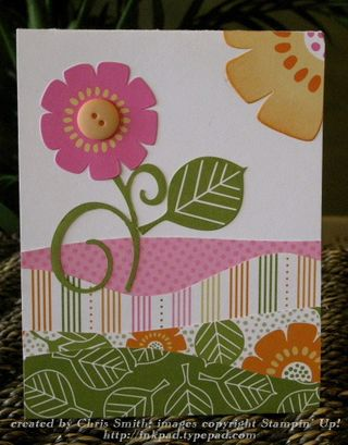 Petal party quilted scene