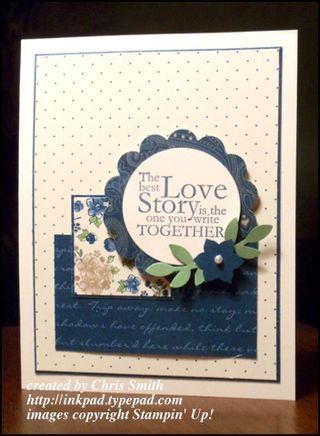Stampin' Up!'s One in a Million; from my ink pad to yours
