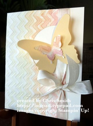 Wet/Dry Embossing; Chris Smith at from my ink pad to yours