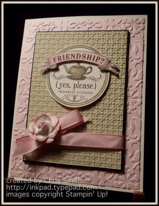 From my Heart friendship card; from my inkpad to yours