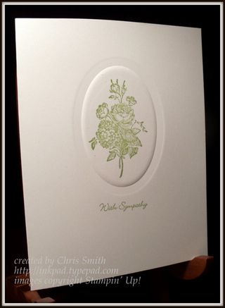 Best of Flowers sympathy card by Chris Smith