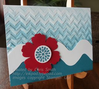 Mixed Bunch Chevron by Chris Smith