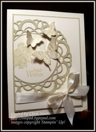 River Rock Doily card by Chris Smith