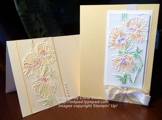 Wet/Dry Embossing tutorial by Chris Smith