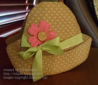 Flower Shop Hat by Chris Smith