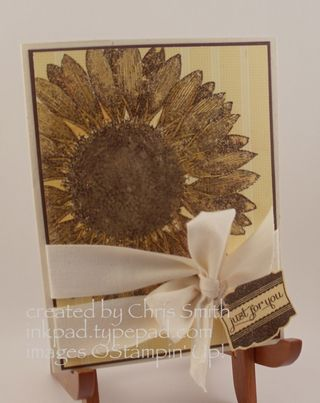 Sunflower + Label Love; Chris Smith at inkpad.typepad.com