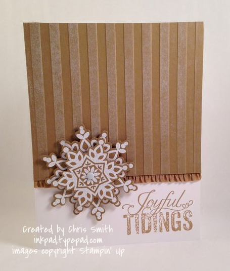 Festive Flurry card by Chris Smith at inkpad.typepad.comCreate