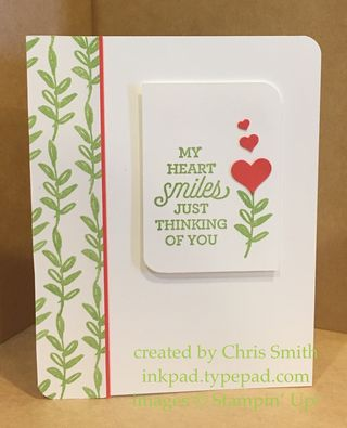 Suite Sayings My Heart card by Chris Smith at inkpad.typepad.com