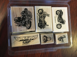 Stampin' Up Born To Ride stamp set