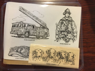 Stampin' Up! Retired Fire Brigade