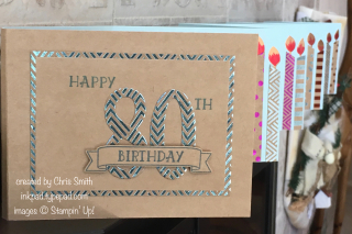 Stampin Up NUmber of Years card by Chris Smith at inkpad.typepad.com