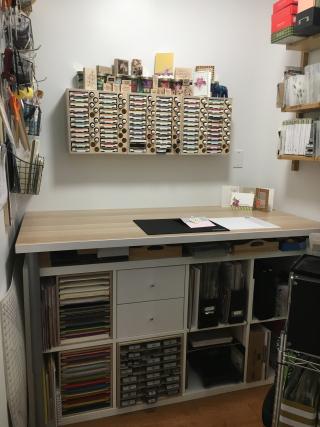 An open workspace