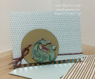 Stampin' Up! Magical Days Dragon card by Chris Smith at inkpad.typepad.com