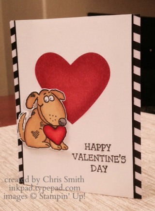 Animal Valentines card by Chris Smith at inkpad.typepad.com