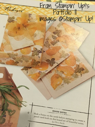 from Stampin' Up!'s Portfolio II, Book III