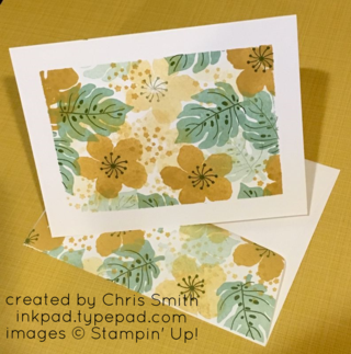 Botanical Blooms card by Chris Smith at