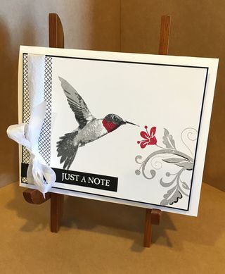 Picture Perfect Hummingbird by Chris Smith at inkpad.typepad.com