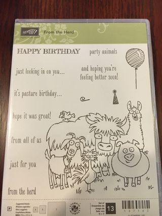 Stampin' Up! From the Herd