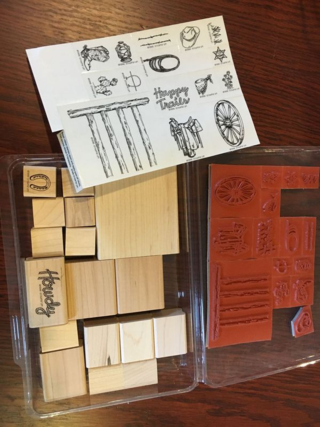 Stampin' Up! Retired Happy Trails stamp set