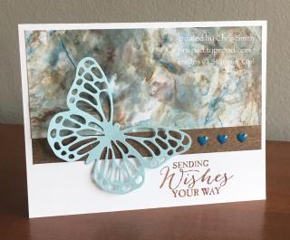 Butterfly Basics shaving cream card by Chris Smith at inkpad.typepad.com