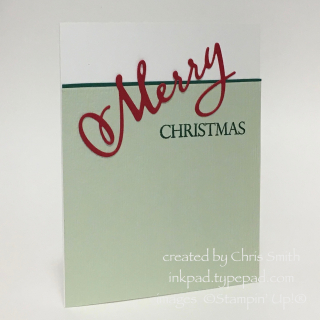 Merry Christmas to All Challenge card by Chris Smith