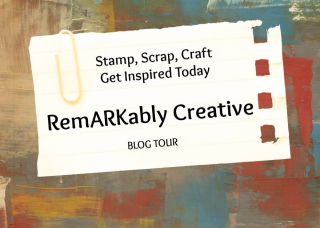 Remarkably Created Blog Hop logo