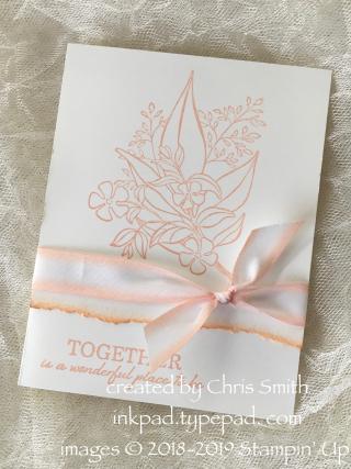 Wonderful Romance #simplestamping card by Chris Smth at inkpad.typepad.com