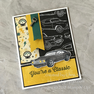 Geared Up sportscar card by Chris Smith at inkpad.typepad.