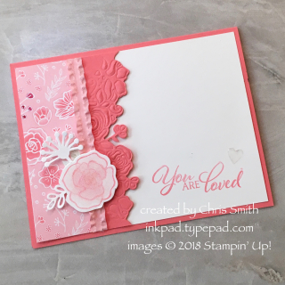 Forever Lovely with Flirty Flamingo card by Chris Smith at inkpad.typepad.com