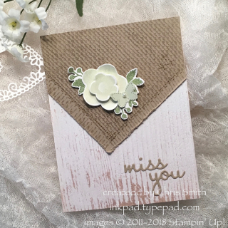 Needle & Thread with Soft Sea Foam card by Chris Smith at inkpad.typepad.com