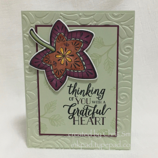 Falling for Leaves with Blends card by Chris Smith at inkpad.typepad.com