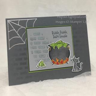 Cauldron Bubble Brick card by Chris Smith