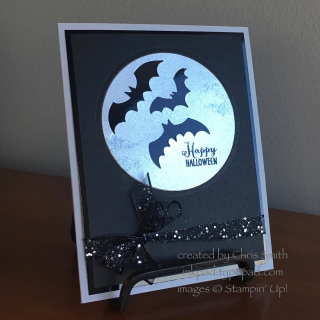 Spooky Sweets Bat 2 card by Chris Smith