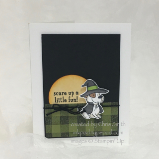 Trick or Tweet Hound Card by Chris Smith