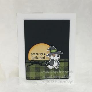 Trick or Tweet Hound Card by Chris Smith