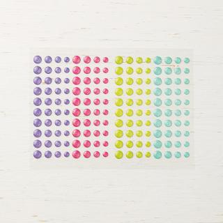 Glitter enalme dots
