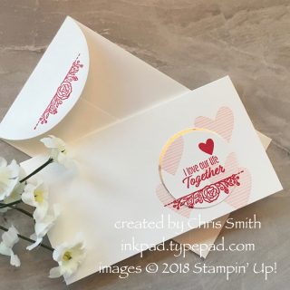 #simplestamping Meant to Be Valentine by Chris Smith at inkpad.typepad.com
