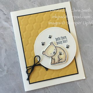 Little animals honey card by Chris Smith