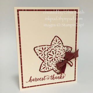 Falling for Leaves with Farmhouse card by Chris Smith