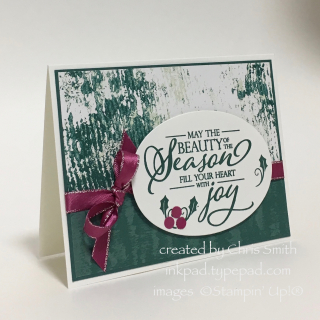 Merry Christmas to All Season card by Chris Smith
