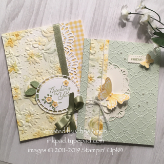 Stampin' Up!'s Country Floral Duo by Chris Smith at inkpad.typepad.com