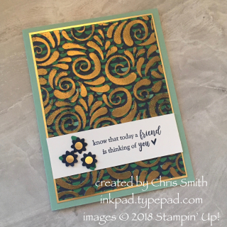 Part of My Story with Happiness Blooms DSP card by Chris Smith