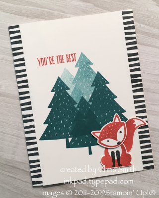 Stampin' Up! Foxy Friends at inkpad.typepad.com