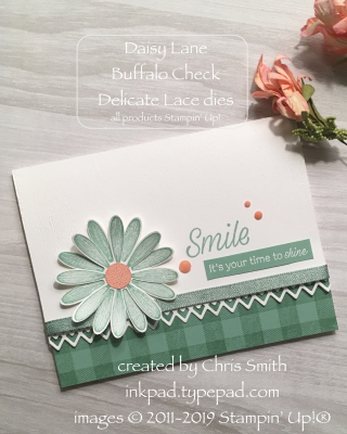 Stampin' Up! Daisy Lane at inkpad.typepad.com
