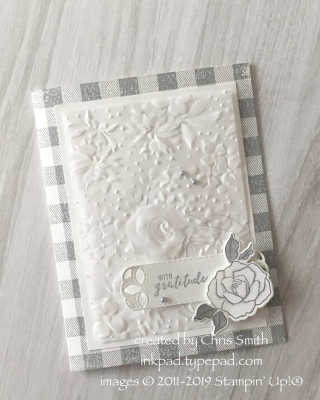 Stampin' Up! Country Floral Folder in Vellum card by Chris Smith at inkpad.typepad.com