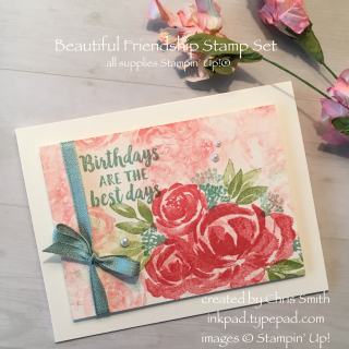 Beautiful Friendship Birthday card at inkpad.typepad.com
