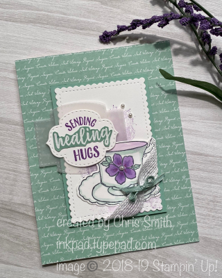 Stampin' Up! So Sentimental get well card by Chris Smith at inkpad.typepad.com
