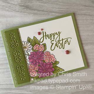 Stampin' Up! Easter Promise with Ornate Style card by Chris Smith at inkpad.typepad.com